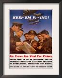WWII US AAF 'Keep'em Flying' Poster