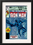 The Invinvible Iron Man 152 Cover: Iron Man Prints by Bob Layton