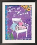 Love is Forever Posters by Flavia Weedn