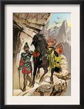 Francisco Pizarro Expedition Ascending the Andes to Conquer the Inca Empire in Peru Posters