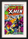 Giant-Size X-Men 2 Cover: Sentinel, Cyclops, Iceman, Angel and Beast Art by Dave Cockrum