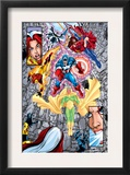Avengers 12 Group: Vision Poster by George Perez