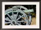 Revolutionary War French Cannon Called the Fox, Yorktown Battlefield, Virginia Print