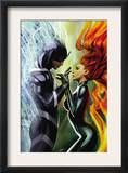 Realm of Kings Inhumans 3 Cover: Medusa and Black Bolt Posters by Stjepan Sejic