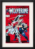 Wolverine 2 Cover: Wolverine and Silver Samurai Prints by John Buscema