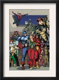 Marvel Holiday Special 1 Group: Captain America Prints by Reilly Brown