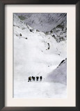 Prospectors Nearing Summit of the Chilkoot Pass during the Alaska Gold Rush, c.1897 Prints