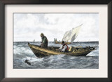 North Atlantic Cod-Fishing in the 1880 Posters