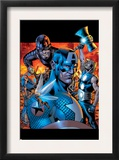 Ultimates 13 Cover: Wasp, Captain America, Thor, Giant Man, Iron Man and Ultimates Print by Bryan Hitch
