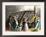 Children Laboring in a Twine-Making Factory, New York City, c.1870 Poster