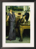 Pottery Painting Posters by Sir Lawrence Alma-Tadema