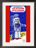 Mechanical Television Spaceman Prints