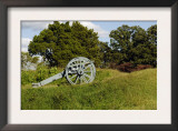 Revolutionary War Cannon Atop a Redoubt at Yorktown Battlefield, Virginia Posters