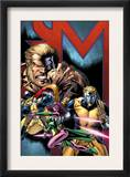 Exiles 69 Cover: Sabretooth, Blink, Mimic, Morph and Exiles Prints by Paul Pelletier