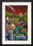 Doctor Doom And The Masters Of Evil 1 Cover: Dr. Doom Prints by Roger Cruz