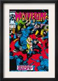 Wolverine 7 Cover: Wolverine, Hulk and Karma Prints by John Buscema