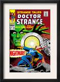 Strange Tales 164 Cover: Dr. Strange and Yandroth Prints by Dan Adkins