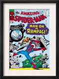 Amazing Spider-Man 32 Cover: Spider-Man Crouching Prints by Steve Ditko