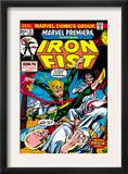 The Immortal Iron Fist: Marvel Premiere 15 Cover: Iron Fist Posters by Gil Kane