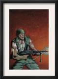 Fury Peachmaker 2 Cover: Nick Fury Prints by Mark Texeira