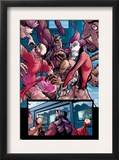 Avengers: The Initiative 4 Group: Hardball, Rage, Komodo and Slapstick Prints by Stefano Caselli