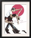 Salsa Dancers Prints