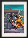 Marvel Adventures Spider-Man 7 Cover: Spider-Man, Kraven The Hunter and Vulture Posters by Tony Daniel