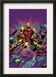 Gene Colan Tribute Book Cover: Iron Man Prints by Matt Milla