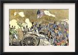 Mexican Artillery at Monterey Captured by General Zachary Taylor's Troops, U.S.-Mexican War, c.1846 Prints