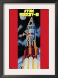 Atom Rocket-15 Posters