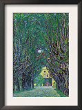 Way To The Park Print by Gustav Klimt