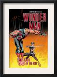 Wonder Man 3 Cover: Wonder Man and Ladykiller Poster by Andrew Currie