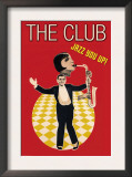 The Jazz Club Prints by Sara Pierce