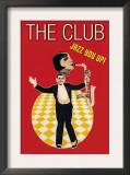 The Jazz Club Prints by Sara Pierce
