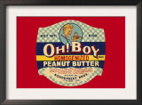 Oh! Boy Homogenized Peanut Butter Poster