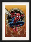 Marvel Adventures Spider-Man 36 Cover: Spider-Man Prints by David Nakayama