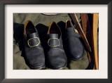 Shoe Hand-Made by a Cobbler Reenactor at Yorktown Battlefield, Virginia Prints