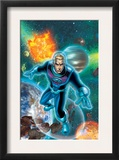 Fantastic Four 522 Cover: Storm and Johnny Prints by Mike Wieringo
