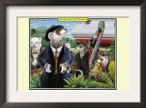 A Business of Ferrets Art by Richard Kelly