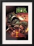 Incredible Hulk 66 Cover: Hulk and Doc Samson Posters by Mike Deodato Jr.