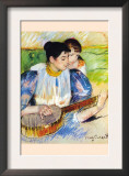 The Banjo Lesson Art by Mary Cassatt