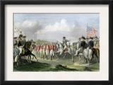 Surrender of the British Army under Lord Cornwallis at Yorktown, c.1781 Poster