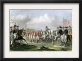Surrender of the British Army under Lord Cornwallis at Yorktown, c.1781 Poster