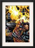Ultimate X-Men #50 Cover: Colossus, Wolverine, Nightcrawler, Grey, Jean, Cyclops, Storm and X-Men Psters por Andy Kubert