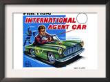 International Agent Car Poster