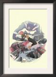 I Heart Marvel: Outlaw Love 1 Cover: Bullseye Art by Jon Proctor