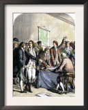 Delegates Signing the Declaration of American Independence, July 4, 1776 Posters