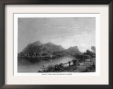 Connecticut, View of Mount Tom from the Connecticut River Posters