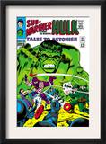 Tales to Astonish 81 Cover: Hulk and Boomerang Prints by Dick Ayers
