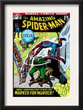 The Amazing Spider-Man 108 Cover: Spider-Man Swimming Posters by John Romita Sr.